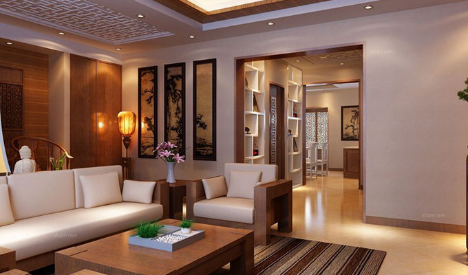 客厅吊顶的合适高度以及亚博yabo88下载设计的技巧