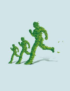 绿色有氧系统