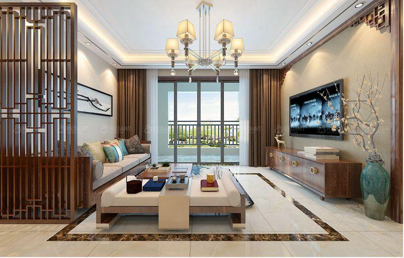 星公元名邸 丨 新中式风格
