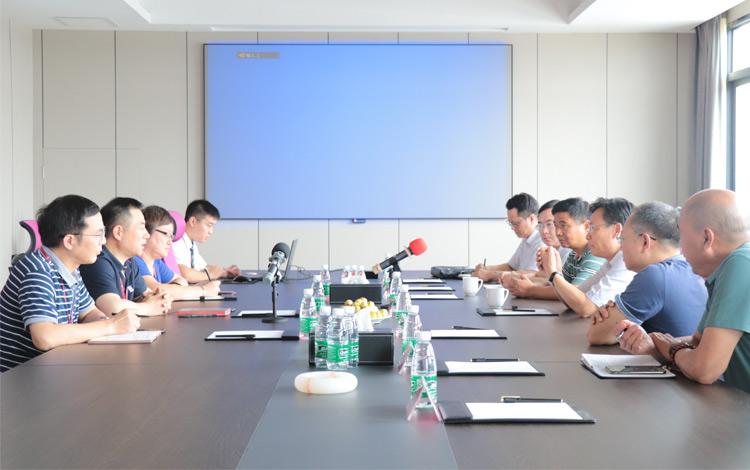 市委常委、统战部长姚林荣莅临红蚂蚁装饰集团走访调研