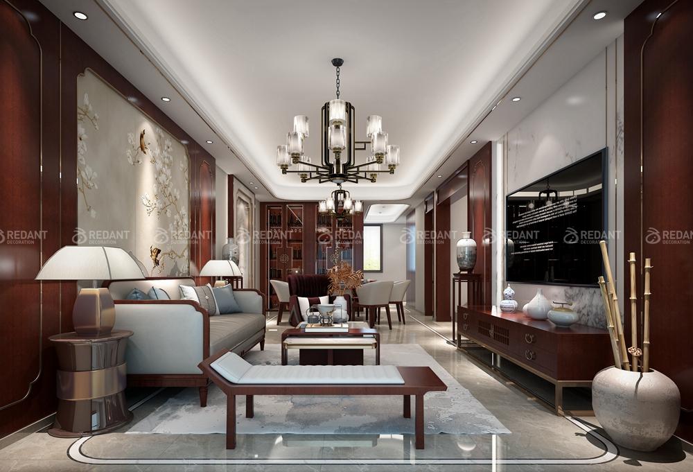 建发独墅湾 | 260平新中式风格装饰