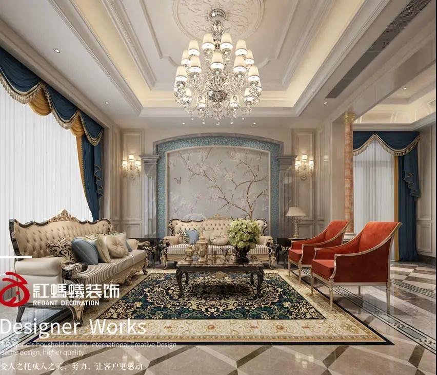 370m²法式风格   庄重大方,典雅高贵!