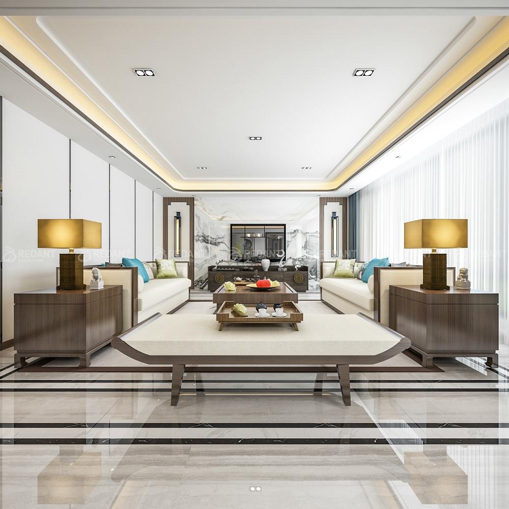 水岸清华翰宫   260㎡新中式风格大平层装修案例