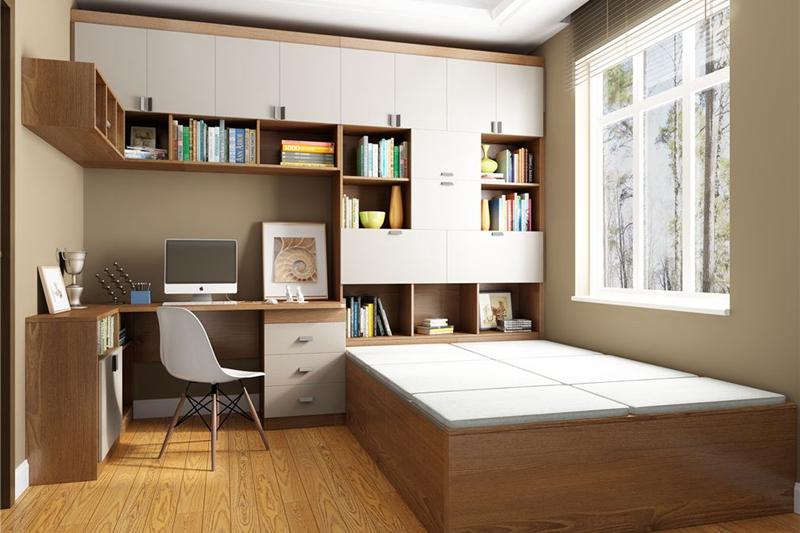 书房装修榻榻米怎样设计才合理?