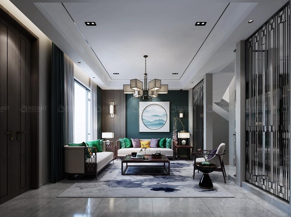 舒适简约的新中式风格,让生活绽放光彩!